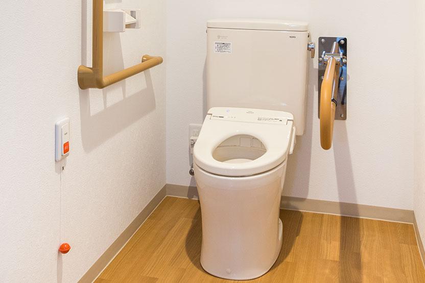 お二人でのご利用が可能なお部屋 トイレ