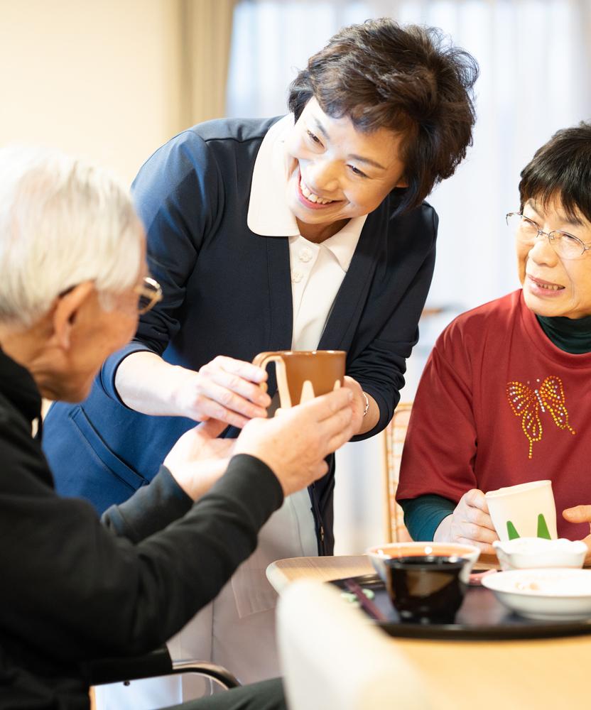 有料老人ホームでは栄養バランスの取れたお食事をご提供