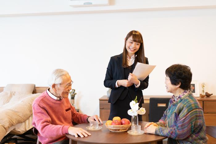 住宅型有料老人ホームモークシャ愛子入居相談受付中